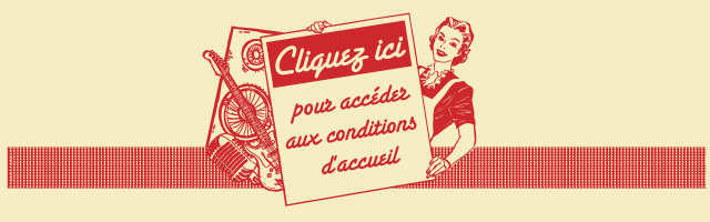 conditions d'accueil Wap Doo Wap